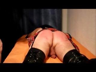 Crossdresser Paddle Normal And Slowmotion