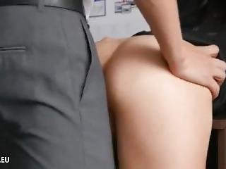Amateur Anal & Blowjob For Horny Secretary With Her Office Boss