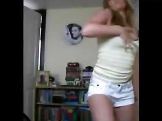 Sister Walks In On Naked Striptease Lol