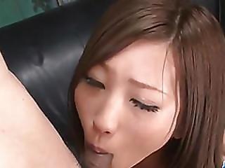 Aika Japan Model Devours Cock In Pov Style�