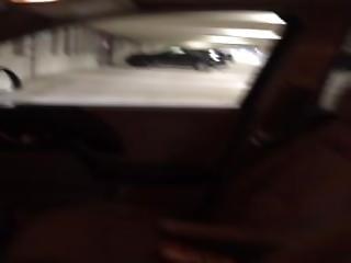 Jerking In Parking Garage