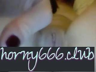 Horny666.club - She Squirts Over And Over While On Cam!