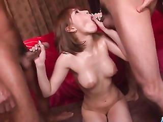 Dyke boobs mistress gangbang