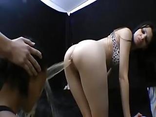 Facesitting Supremacy - Karina Face Fucking Two Slave Girls