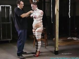 gros téton, bondage