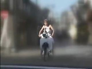 Bicycle, Japanese, Orgasm, Sex, Squirt, Toys