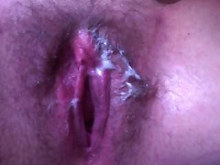 Creamy Pussy Orgasm Contractions