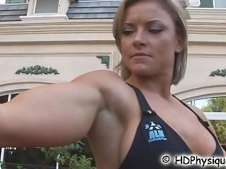 Oh! Skinny Girl Has Biceps!