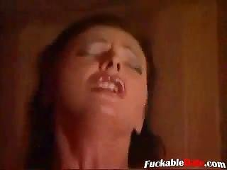 Rondbostig, Milf, Sauna, Tiener