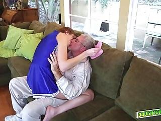 Molly Manson Goes On Top Of Coach Daddies Big Matured Cock And Rides It She Show Her Skills As Horny Daddy Continue To Pound Her Tight Pussy Balls Deep Mollys Tight Twat Got Railed By A Big Matured And Loaded Cock