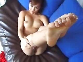 fødder, fod, japansk, onani, pornostjerne, pov, lejetøj