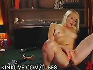Masturbating Sexy Slut