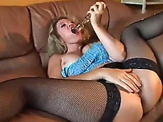 Horny Milf Anita Cannibal Toys Pussy And Satisfies Appetite For Hard Dicks