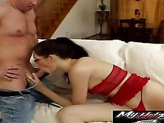 Kerri Can Handle Two Cocks At A Time Without Flinching