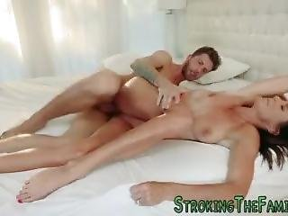 Stepmother Takes Fat Rod