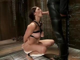 bonasse, gros téton, bondage, brunette, fétiche, star du porno