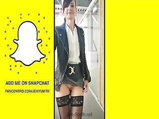 Jeny Smith Snapchat Compilation Public Flashing And Nude