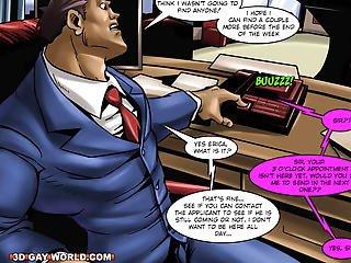 Flamboyant Four Homo Superhero Animated Comics