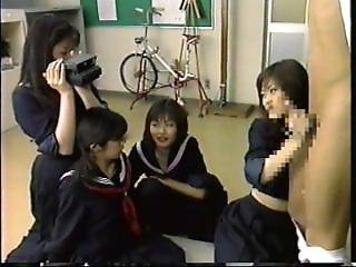 Schoolgirls Give A Lesson In Domination