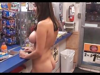 Latina Shopping Nude