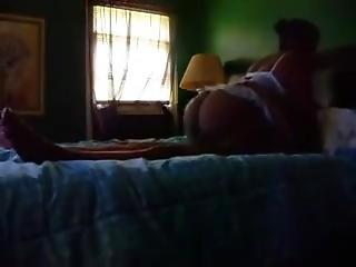 Big Booty Ebony Mature Fucked On Hidden Cam