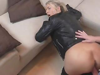 slet, blonde, fetish, duits, hardcore, leer, sperma