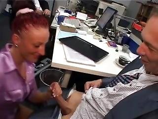 Crazy Office Girl