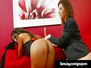 Famous Nympho Sara Jay Abuses Licks Fucks Dark Ashley Sin
