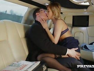Chick, Blonde, Limo, Porno Ster, Publiek