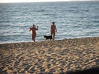 Nudes On The Beach