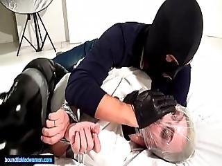 Ammalia Handsmothered Bound Tickled And Suffocated By A Man In Balaclava