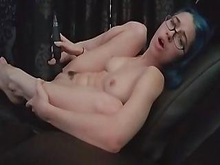Masturbating In Daddy S Chair Showing You My Feet Tits And Pussy. Alex Coal
