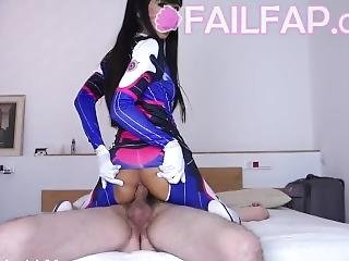 Dva Does Hardcore Anal For The First Time