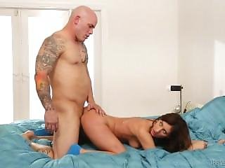 Addison Ryder Drilled By A Tatooed Guy
