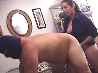 Buttslammed By A Bitch