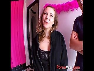Ophelie Is An Exhibitionist And Sex Of Rabid French Amateur