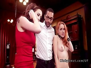 Spoiled Brat And Mom Got Anal Discipline
