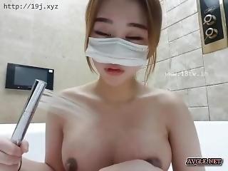asiatisch, koreanisch, onanieren, webkam