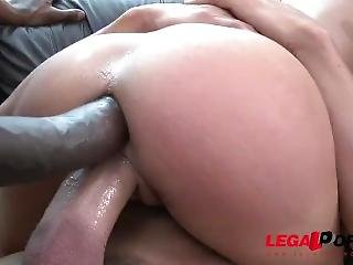 Legalporno Trailer - Holly Hendrix Needs No Toys, Only Three Monster Cocks