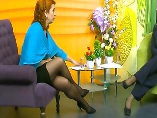 Long Legs On Tv