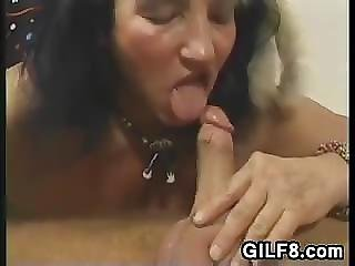 Fat And Wild European Grandma