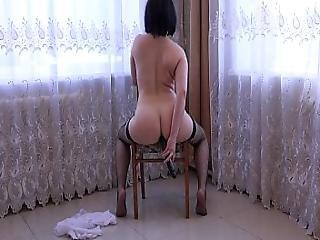 amatør, anal, røv, sort, numse, dildo, hjemme, hjemmelavet, onani, fisse, lejetøj