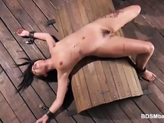 Gina Valentina Spanked
