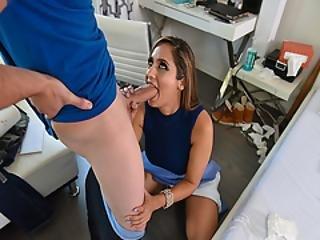 Reena Sky Deep Throat Blowjob Her Inexperienced Little Price Alex D