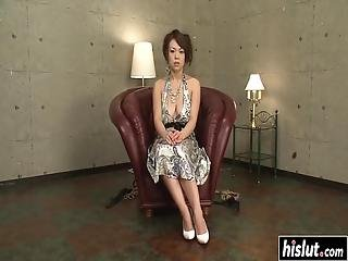 Reiko Nakamori Has To Moan While Friends Please Her With Sex Toys