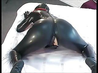 Amateur, Latex, Masturbation, Orgasme, Noël