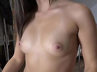 Euro Chick Carla Cross Gives An Awesome Blowjob In The Elevator
