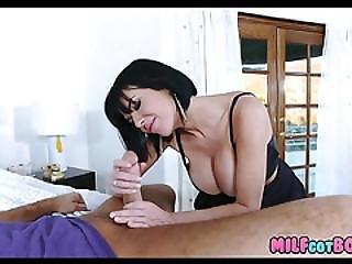 Milf Gets Off On Teen Dick