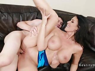 Busty Milf Hunter Finds Young Big Cock For Sex
