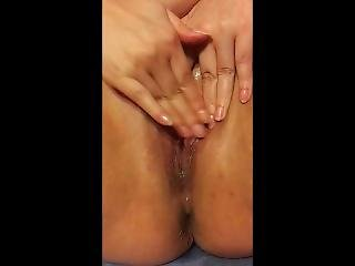Dripping Wet Creampied Pussy